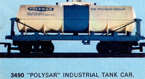 Polysar Industrial Tank Car