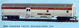 Canadian Pacific Baggage/Kitchen Car (Canada)