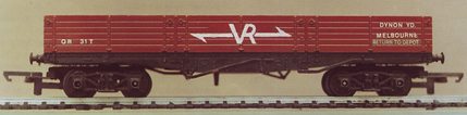 V.R. Brick Wagon