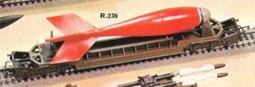 Red Arrow Bomb Transporter