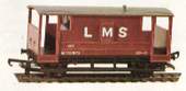 L.M.S. Guards Van