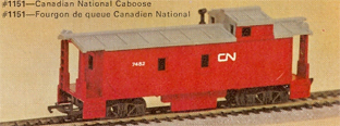 Canadian National Caboose (Canada)