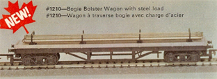 Bogie Bolster Wagon With Steel Load (Canada)