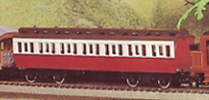 Railway Children Clerestory Coach