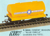 Blue Circle Cement Wagon