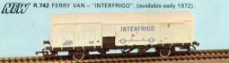 Interfrigo International Ferry Van