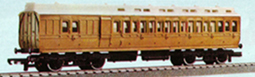 L.N.E.R. Brake 3rd Clerestory Coach