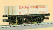 General Refractories 5 Plank Wagon