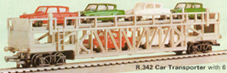 Car Transporter with 6 Cars