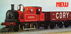 0-4-0 Industrial Tank Locomotive
