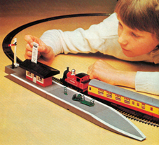 Ticket Operated Train Set