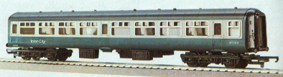 B.R. Mark II Inter-City 2nd Coach