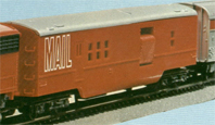 Transcontinental Mail Car
