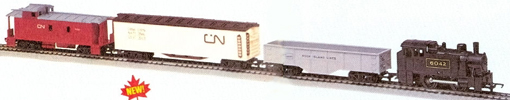 Side-Tank Switcher Freight Set (Canada)