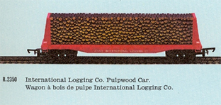 International Logging Co. Pulpwood Car