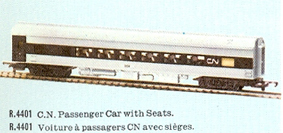 Canadian National Passenger Car