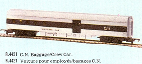 Canadian National Baggage/Kitchen Car (Canada)