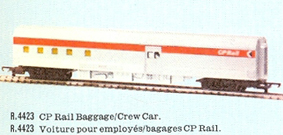 C.P. Rail Baggage/Crew Car (Canada)