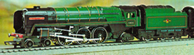 Class 7 Locomotive - Oliver Cromwell