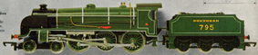 King Arthur Class N15 Locomotive - Sir Dinadan