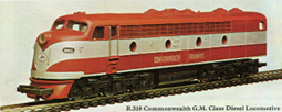 Commonwealth GM Class Diesel Locomotive (Aust)