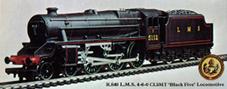 Class 5MT Locomotive - Black Five