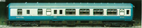 B.R. Mark II Inter-City Brake 2nd Coach