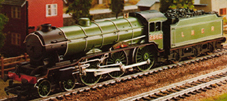 Class B17 Locomotive - Manchester United