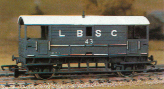 L.B.S.C. 20 Ton Goods Brake Van