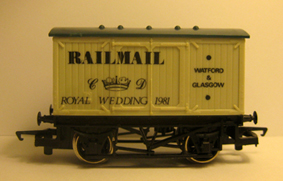 Railmail Closed Van