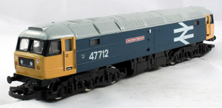 Class 47 Co-Co Locomotive - Lady Diana Spencer