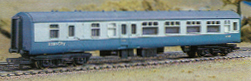 B.R. Mk.2 Brake Second Class Corridor Coach (BSK)