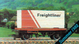Flat Wagon with Freightliner