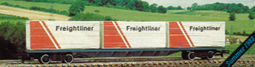 Freightliner with Three 20 Feet Containers
