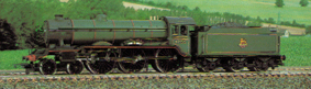 Class B17 Locomotive - Leeds United