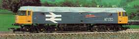 Class 47 Co-Co Locomotive - County Of Norfolk