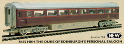 HRH The Duke Of Edinburghs Personal Saloon