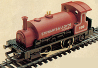 Stewart & Lloyds Ltd 0-4-0 Locomotive