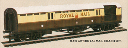 G.W.R. Royal Mail Coach Set