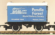 Pendle Forest Model Railway Society Van (Blue)