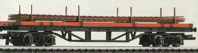 Railfreight Bogie Bolster Wagon
