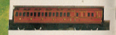 L.M.S. Clerestory Brake 3rd Coach