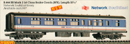 B.R. Mark 2 1st Class Brake Coach (BFK)