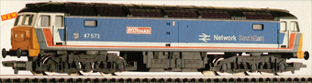 Class 47 Co-Co Locomotive - The London Standard