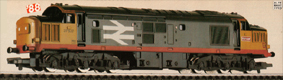 Class 37 Co-Co Locomotive - Railfreight