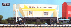 British Industrial Sand (BIS) Hopper Wagon (PGA)