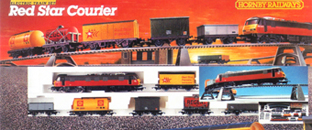 Red Star Courier Train Set