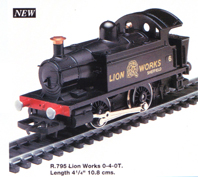 Lion Works 0-4-0T Locomotive