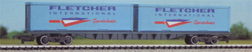 Fletcher International Sportsboats 2 x 30ft Freightliner Container Wagon (FFA)