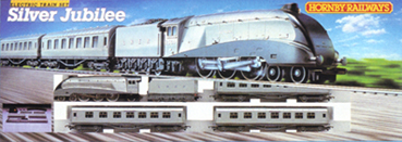 Silver Jubilee Train Set